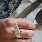Ring aus Besteck
